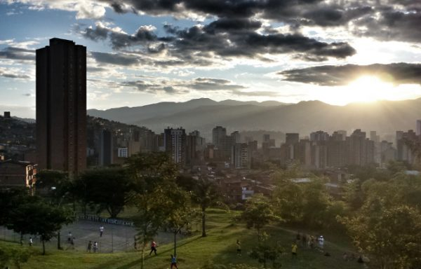 While Colombia works to end the civil war, life has already become much safer in the city Medellín. Bringing peace to the whole country will be a big test of the global goal to create a peaceful future for all.