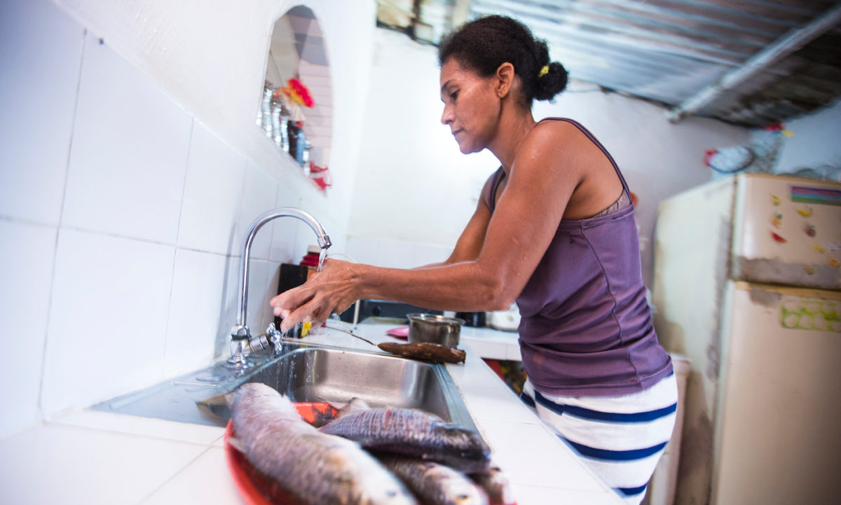 In Denmark, people still joke about an old commercial slogan that claims everybody is 'entitled to an awesome kitchen'. But in Colombia, they are taking this idea more seriously.